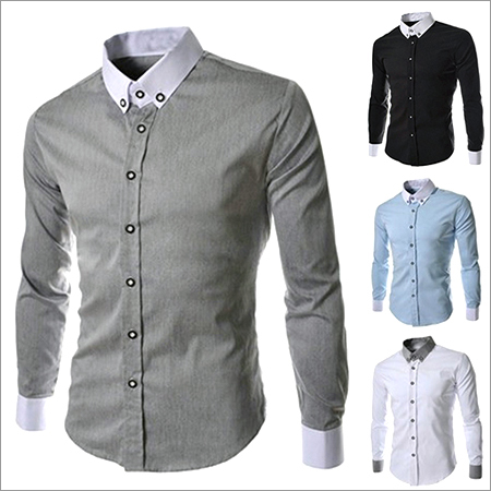 Mens Long Casual Shirt