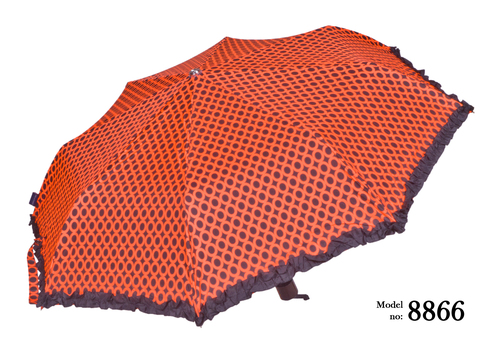 orange umbrella