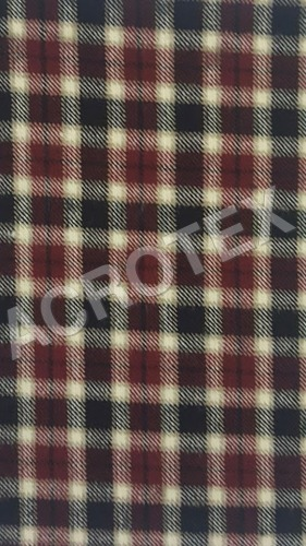 Acrylic Cashmilon Check Fabric