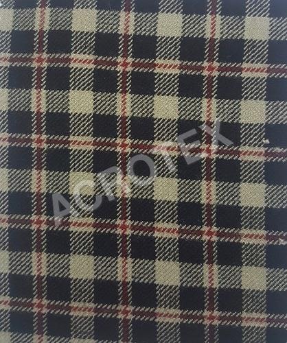 Acrylic Cashmilon Check Fabric
