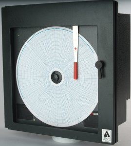 Single Pen Potentiometric Circular Chart Recorder
