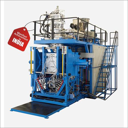 Accumulator Parison Type Co-Extrusion Blow Moulding Machine