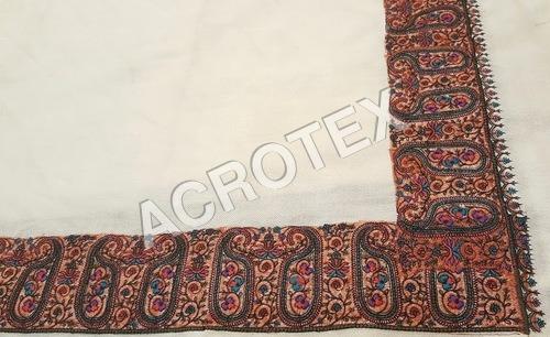 Border Embroidery Shawl