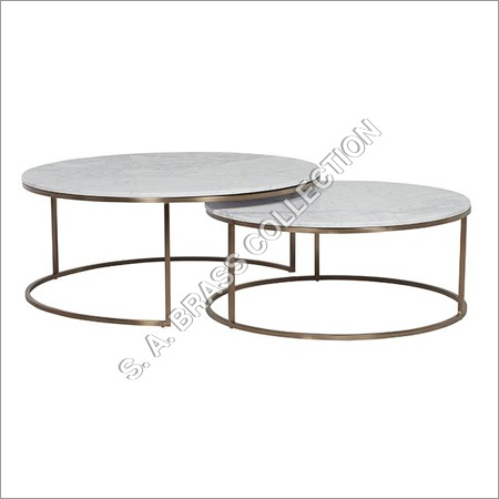 Nesting Coffee Tables Round