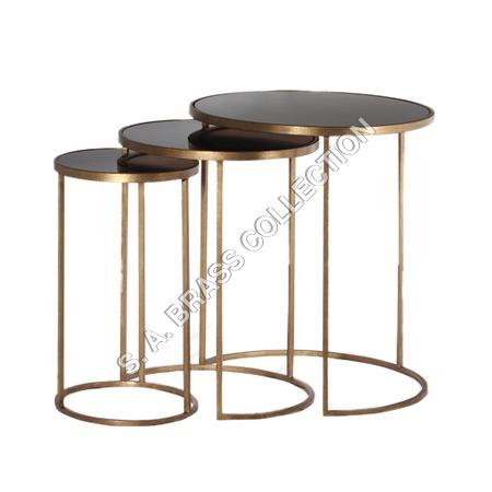Round Nesting Table