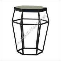 Ford Occasional Table Stool In Black