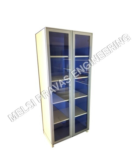 Glass Storage Cabinet