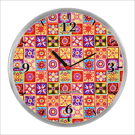 Mystic Steel Wall Clock