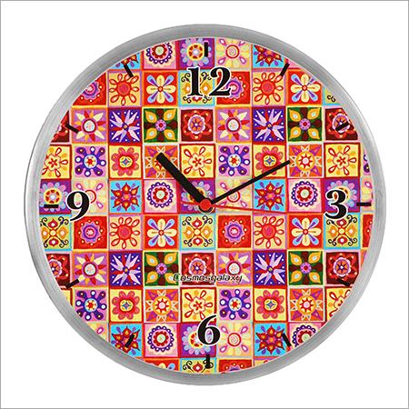 Mystic Steel Wall Clock