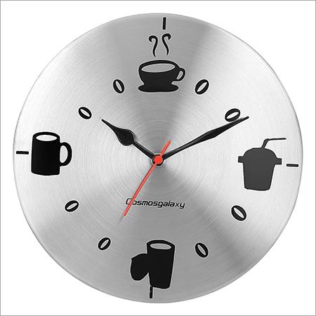 Drinks Steel Wall Clock