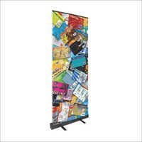 Black Beauty Banner Stand