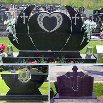 Granite Headstone Monument