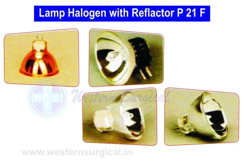 Halogen Lamp with Reflector