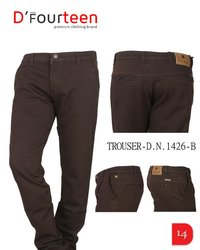 Black Cotton Trouser