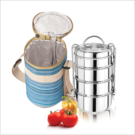 Royal S. S. Tiffin Set Within Bag