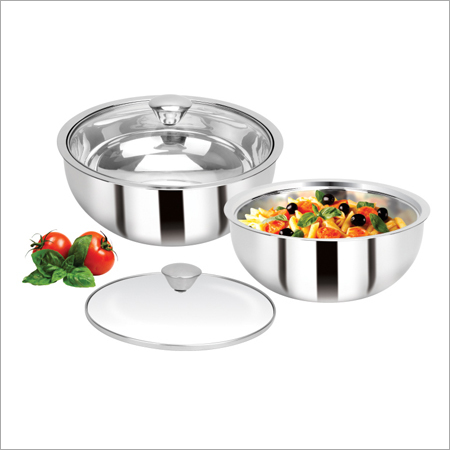 Vama Curry Bowl With Glass Lid