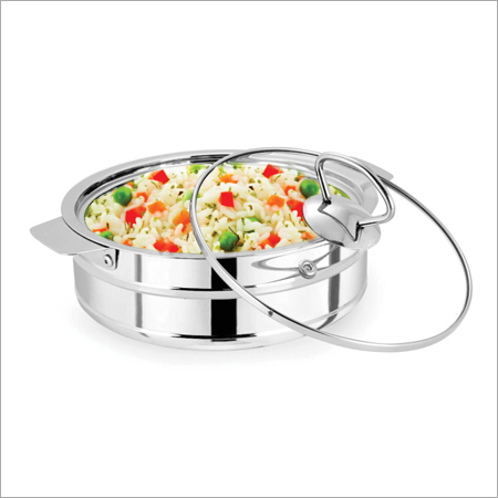 Chapati Pot With Glass Lid