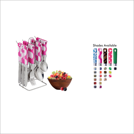 Diplomat Cutlery Set With Stand