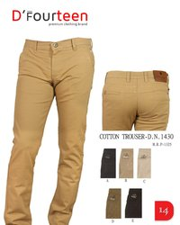 Mens Cotton Fit Jeans