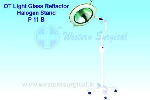 OT Light Glass Reflector Halogen Stand