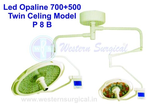 LED Opaline Twin Ceiling Model