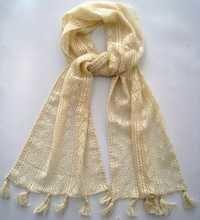 crochet stole with tassels
