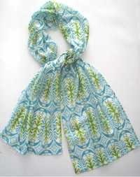 cotton stole with pouch