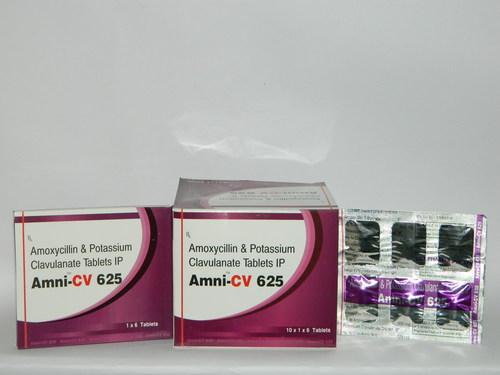 Amoxycillin 500mg + Clavulanic Acid 125mg