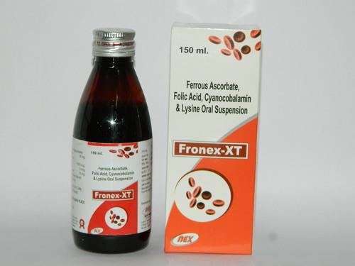 Ferrous ascorbate Folic Acid,Cyanocobalamin