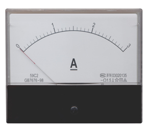 Moving Iron Instruments DC Ammeter