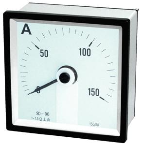 240°Moving Instrument DC Ammeter