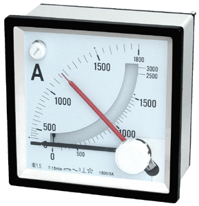 Maximum Demand Ammeter with Moving Iron Ammeter