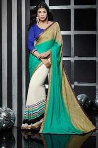 Modern Multicolor Ladies Saree