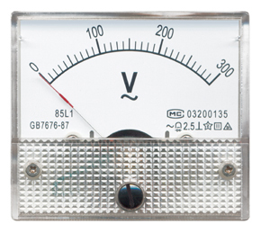 Moving Coil Instruments With Rectifier AC Voltmeter