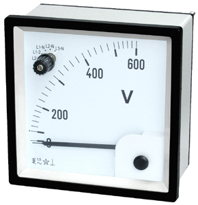 Moving Iron Voltmeter With Change Over Switch For AC Voltmeter