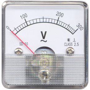 Moving Coil instrument AC Voltmeter