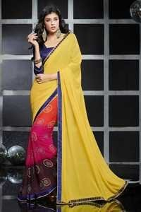 Ladies Bandhani Print Saree