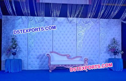 White Tufted Panels