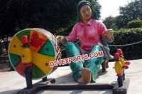 Punjabi Women Spinning the Chark