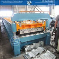 High Speed Floor Decking Roll Forming Machine
