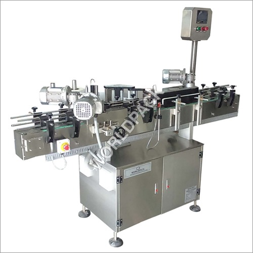 Stepper Wrapround PLC Touch Screen Labeling Machine