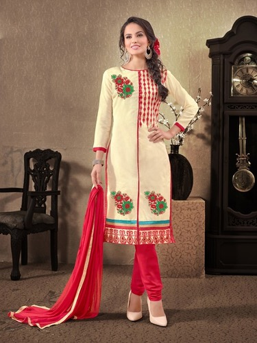 Chanderi Designer Dress