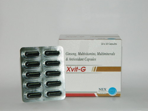 Multivitamin, Minerals with Ginseng Capsules