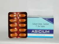 Calcium Citrate, Calcitriol C Zinc Tablets
