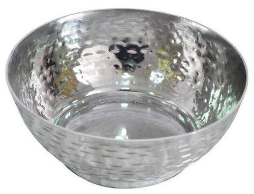 Aluminium Bowl with Hammered
