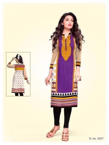 Bansi Cotton Printed Kurti Materials