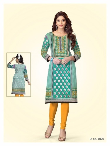Latest Unstitched Kurti Materials