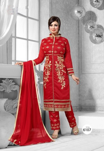 Designer Embroidered Partywear Salwar Suit