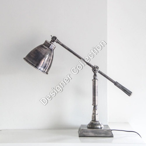 Antique Silver Desk Lamp