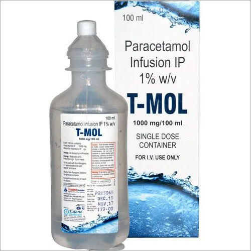Paracetamol Infusion IV 1.0g
